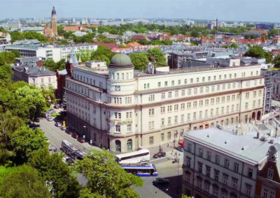 Film reklamowy nieruchomości - Kraków, ul. Wielopole -  Nieruchomości Orange