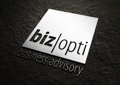 Logotyp kancelarii doradczej BizOpti