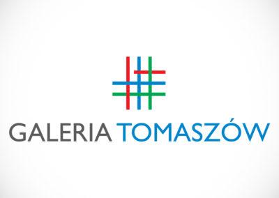 Logotyp - centrum handlowe Galeria Tomaszów
