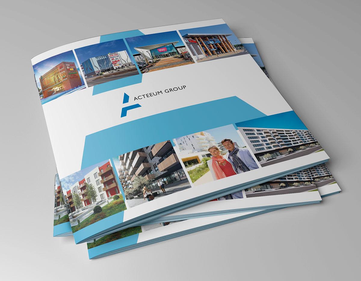 Art Media Factory - Acteeum Group - folder korporacyjny