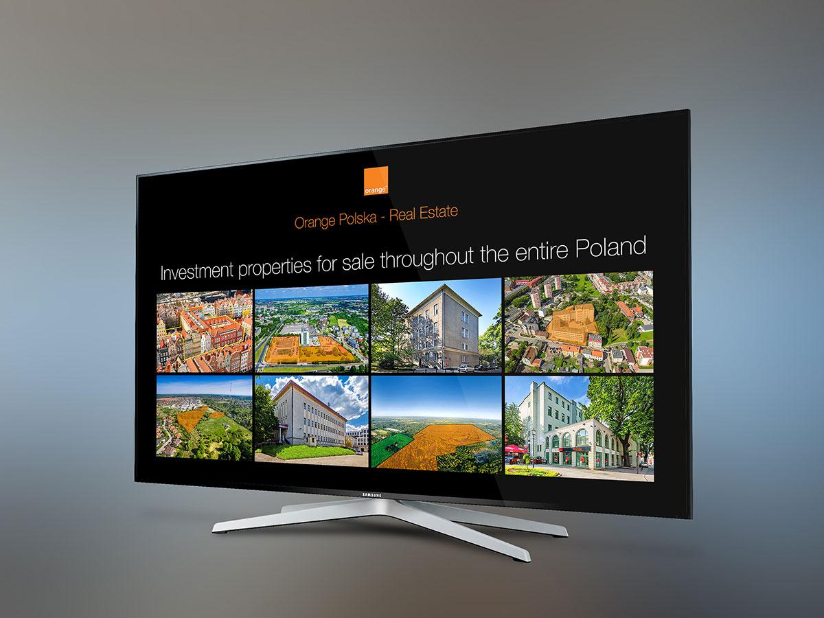 Art Media Factory - Orange Nieruchomości - prezentacja MIPIM