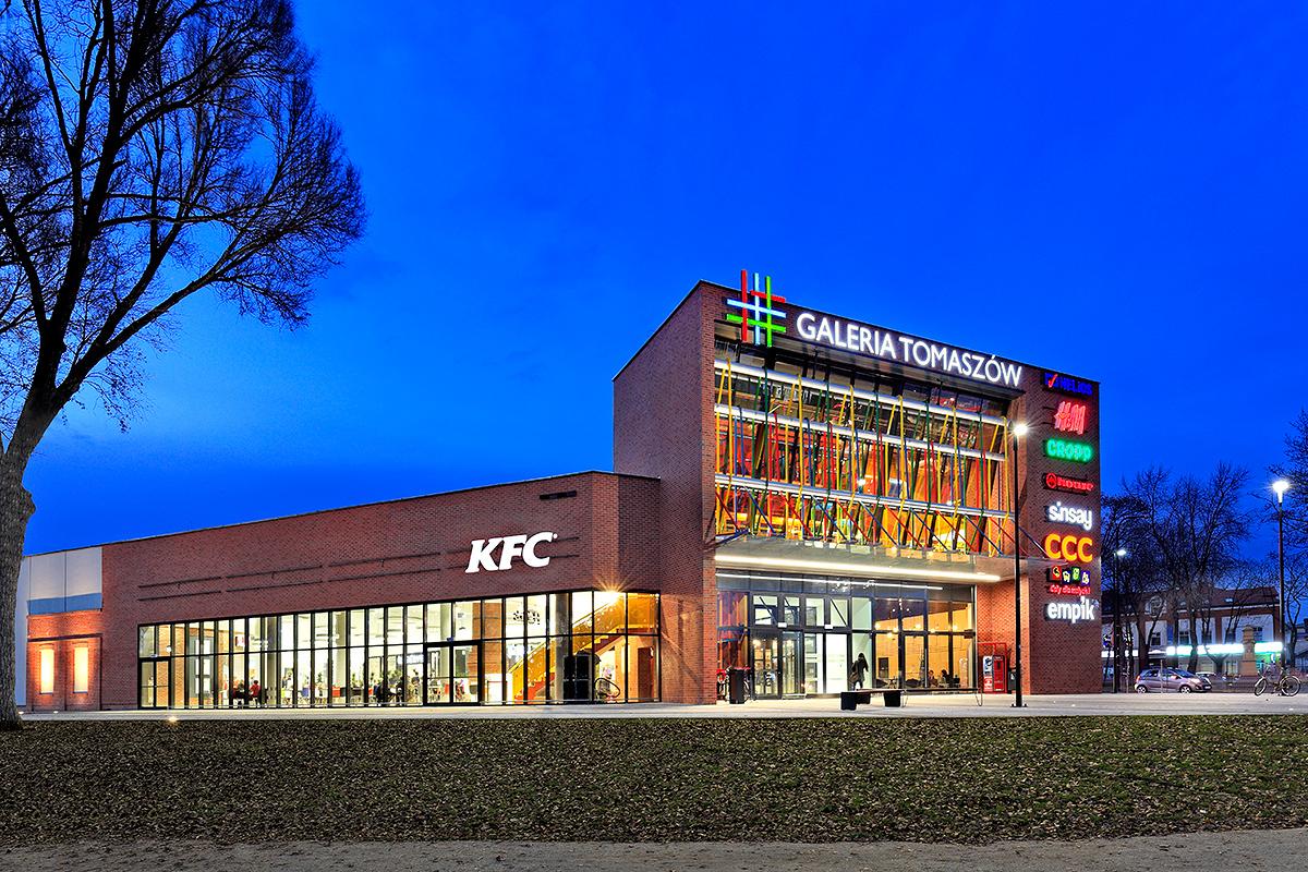 Galerie i Centra HandloweFotografia architektury zewnętrznej oraz wnętrz obiektów handlowych