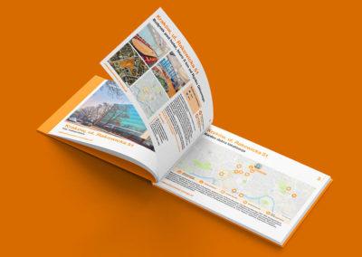 Folder reklamowy nieruchomości inwestycyjnej Kraków - Nieruchomości Orange