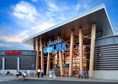 Fotografia reklamowa - Architektura - Centrum Handlowe Galeria Solna - Inowrocław
