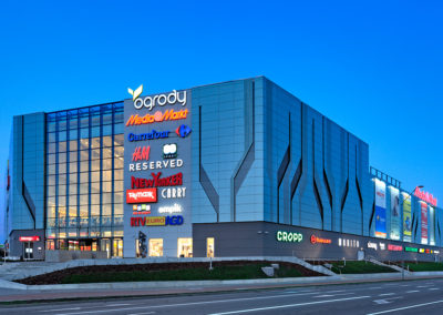 Fotografia reklamowa - Architektura - Centrum Handlowe Ogrody - Elbląg