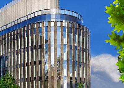 Inwestycja Powisle Park - budynek biurowy przy osiedlu Apartamenty Na Powislu