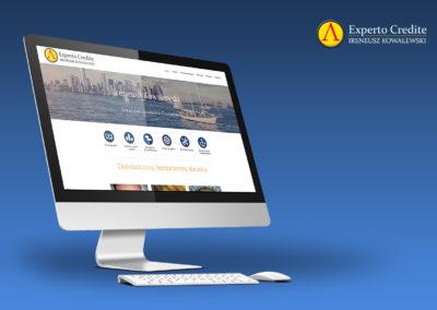 Strony internetowe - Experto Credite
