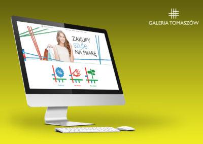Strony internetowe - Galeria Tomaszów