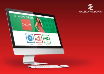 Strony internetowe - Galeria Wołomin