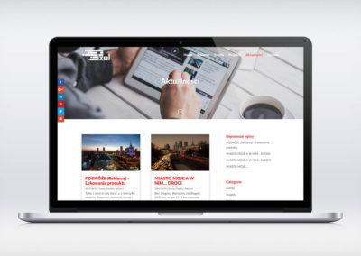 Witryna www - PIXEL - reklama mobilna