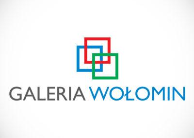 Logotyp - centrum handlowe Galeria Wołomin