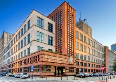 Fotografia handlowa nieruchomości - kompleks Warszawa, ul. Św. Barbary / Nowogrodzka - Nieruchomości Orange